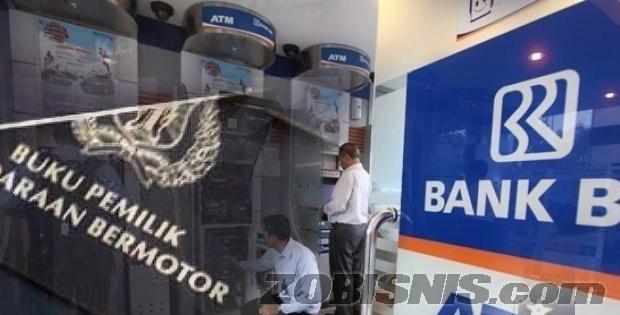 Pinjaman dana bank BRI jaminan gadai BPKB