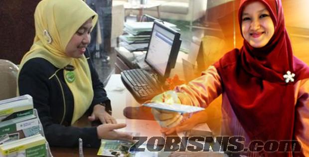 Pinjaman tanpa jaminan mudah di bank syariah