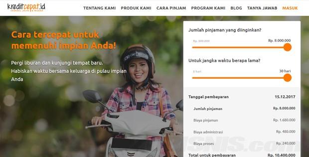 Kreditcepat Id Pinjaman Online Tanpa Agunan Hingga Rp 8 Juta