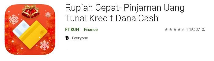 Aplikasi pinjaman online bunga rendah 2021